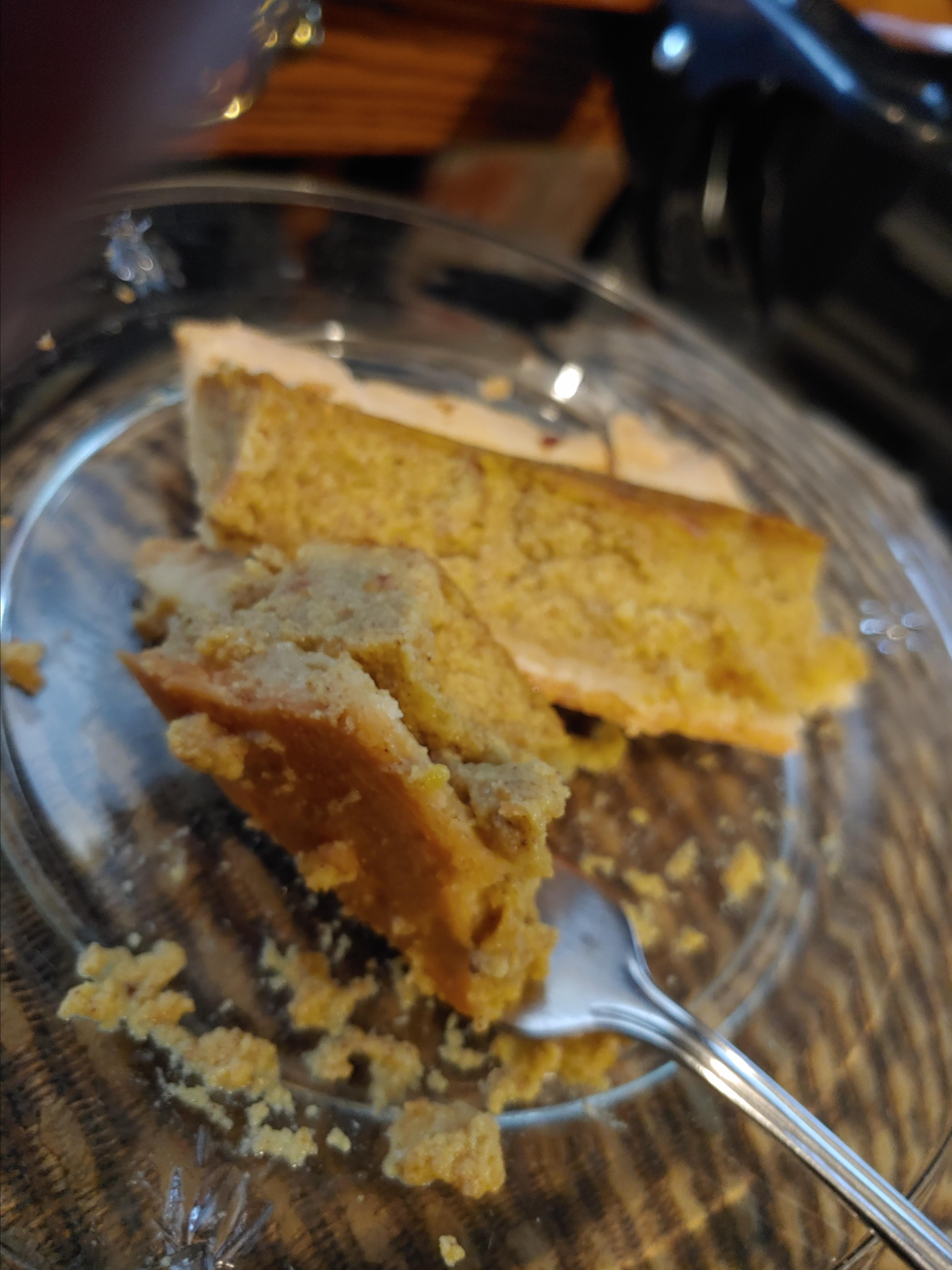 Grandma's Sweet Hubbard Squash Custard Pie Kathy Weber