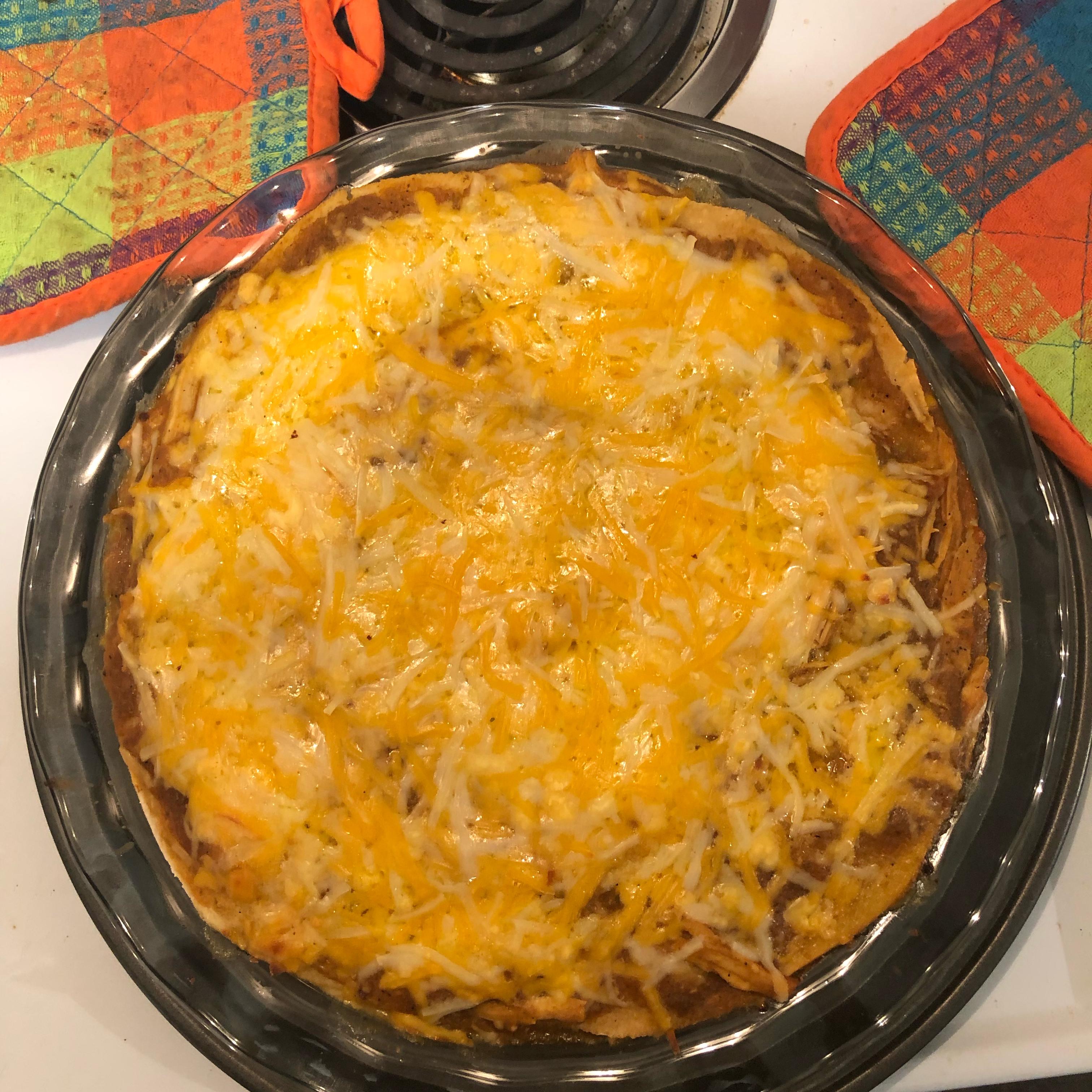 Hatch Chile Enchilada Pie Jeff Baird