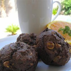 Fudgey Peanut Butter Chip Muffins Diane Hepburn