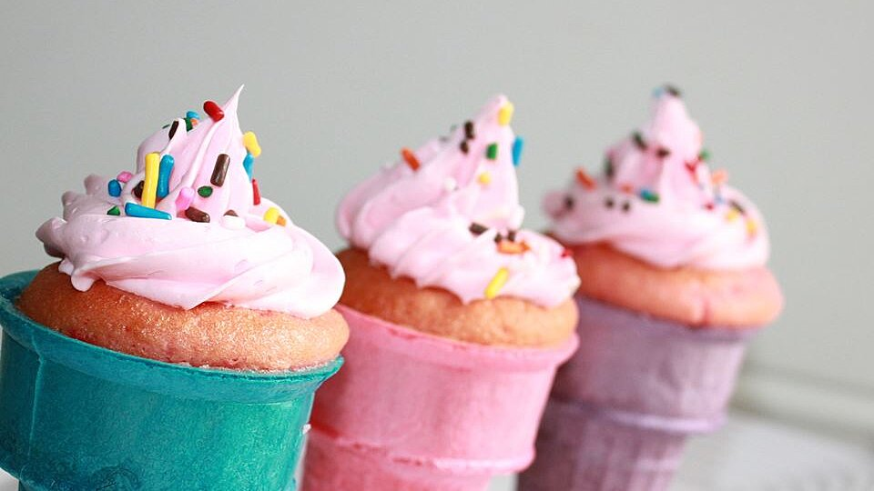 Cakes In A Cone