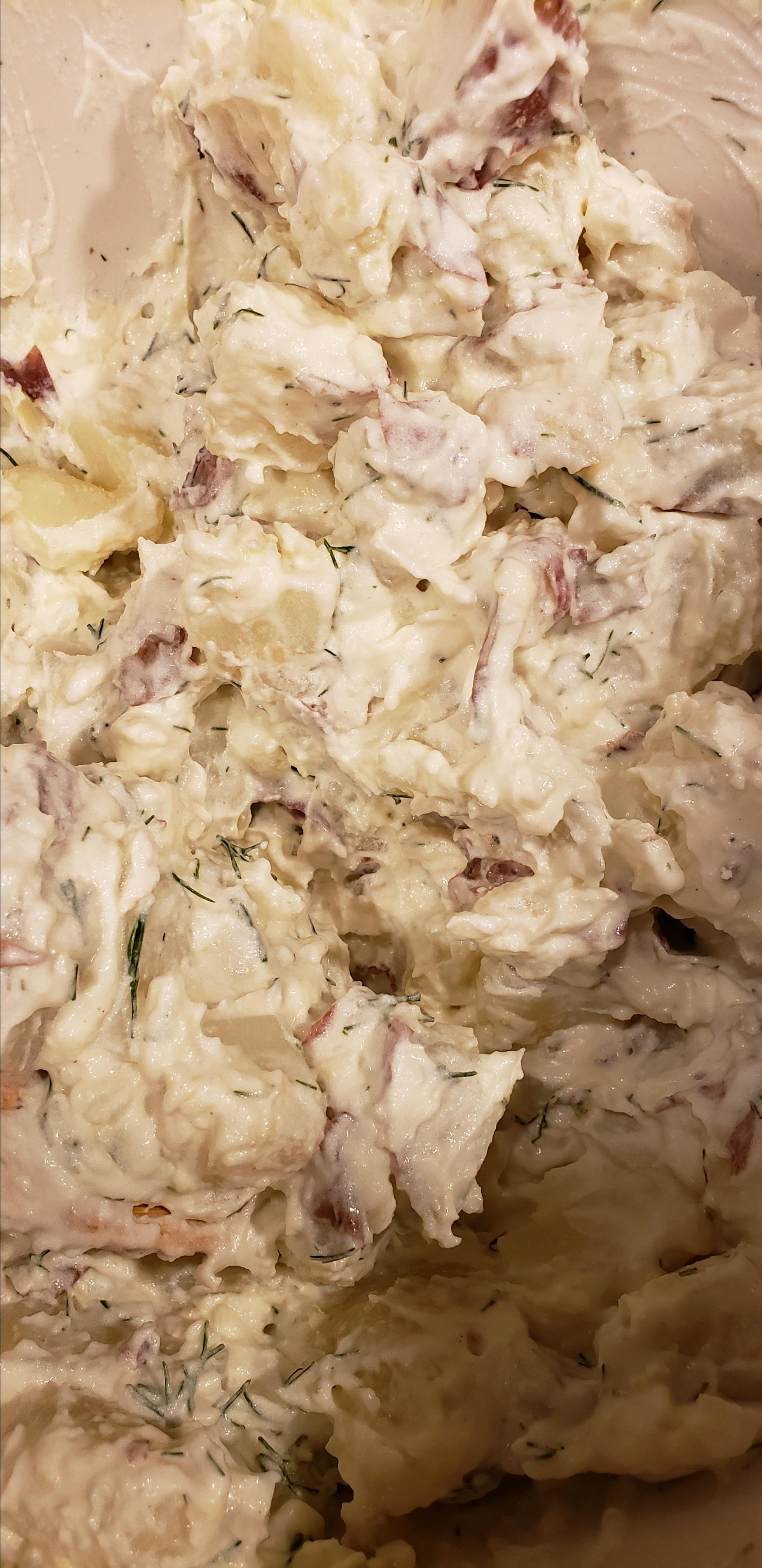 Mom's Dill Potato Salad