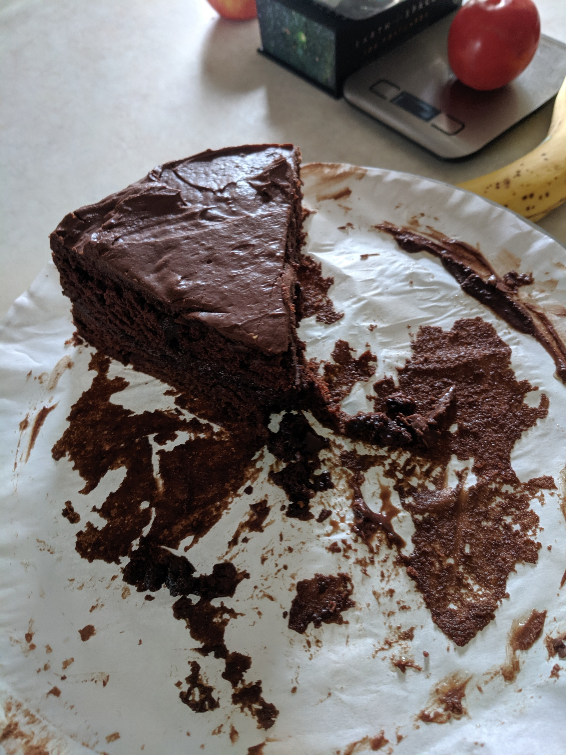 Salad Dressing Chocolate Cake Sarah Lacoursiere