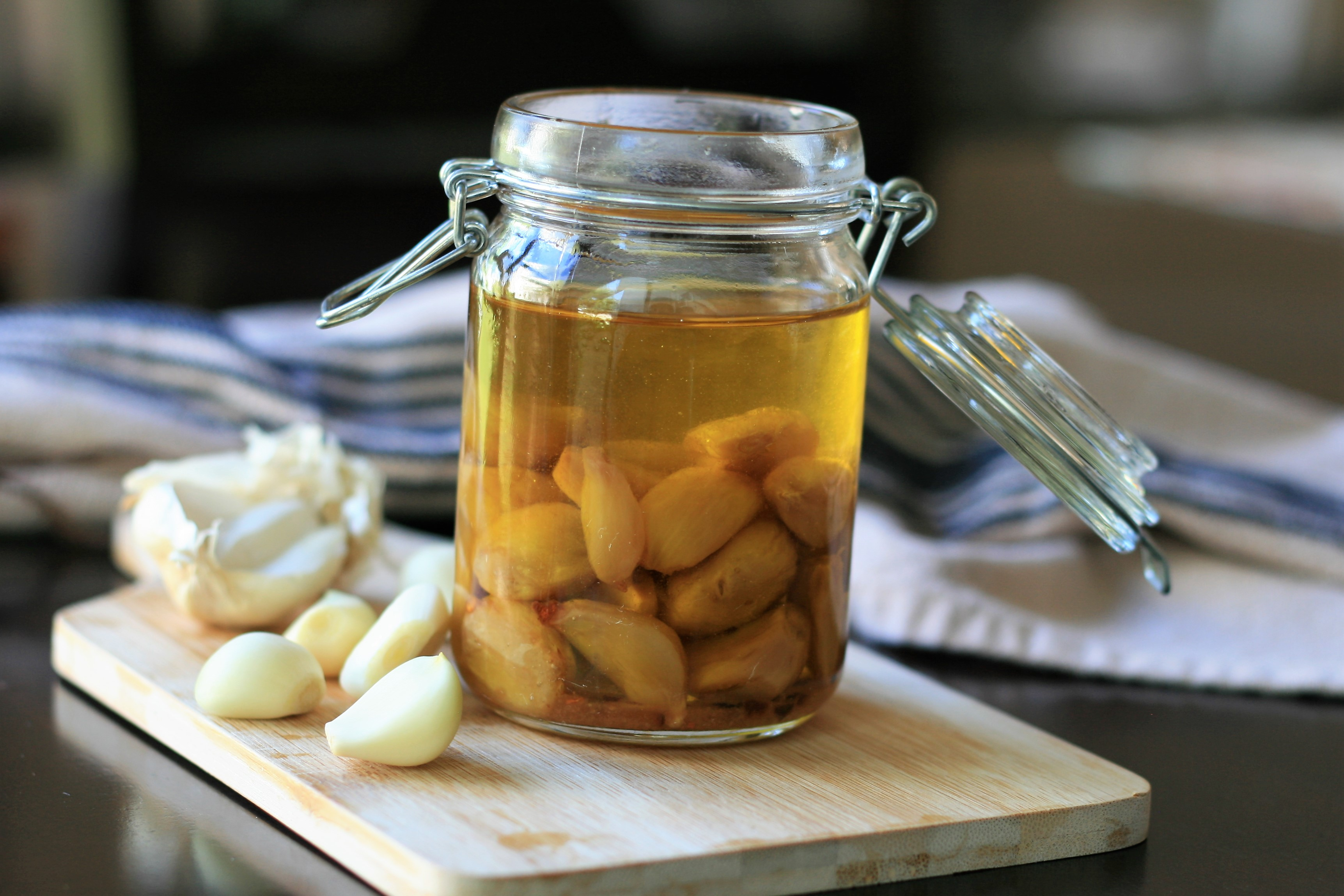 Slow-Cooked Garlic Confit