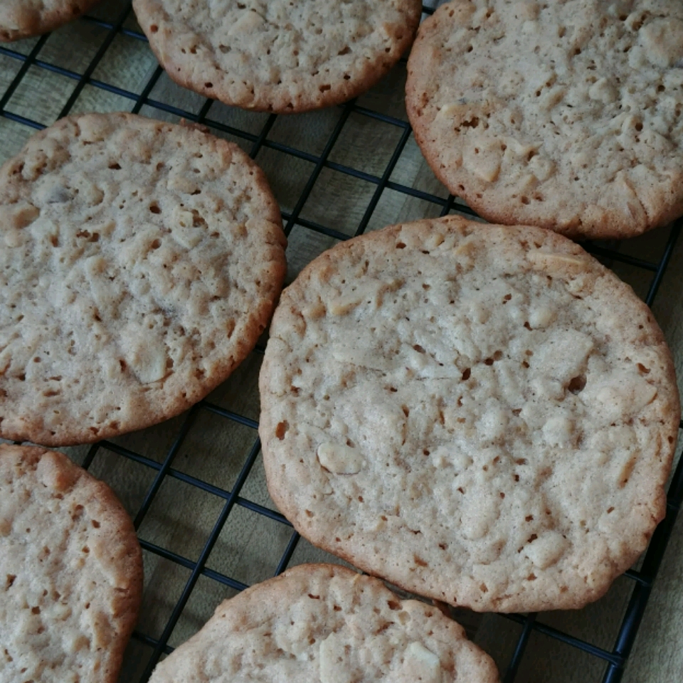 Tahini Honey Oatmeal Cookies Kendra S