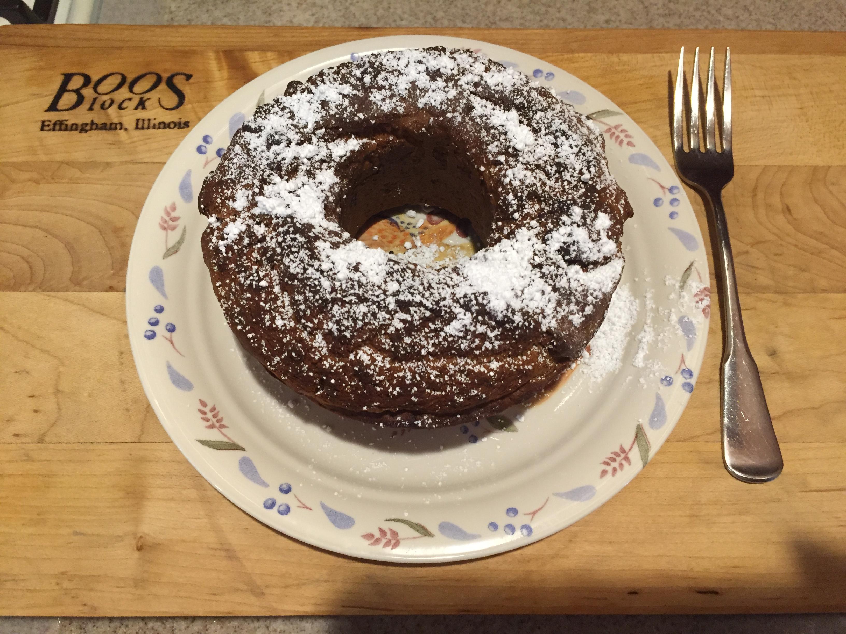 Air-Fried Banana Cake Debco