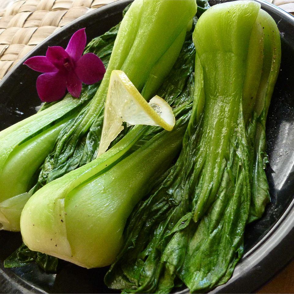 Baby Bok Choy with Garlic OkinawanPrincess
