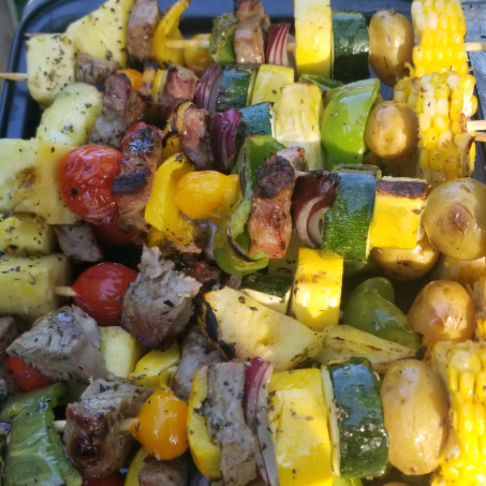 Grilled Veggie Skewers