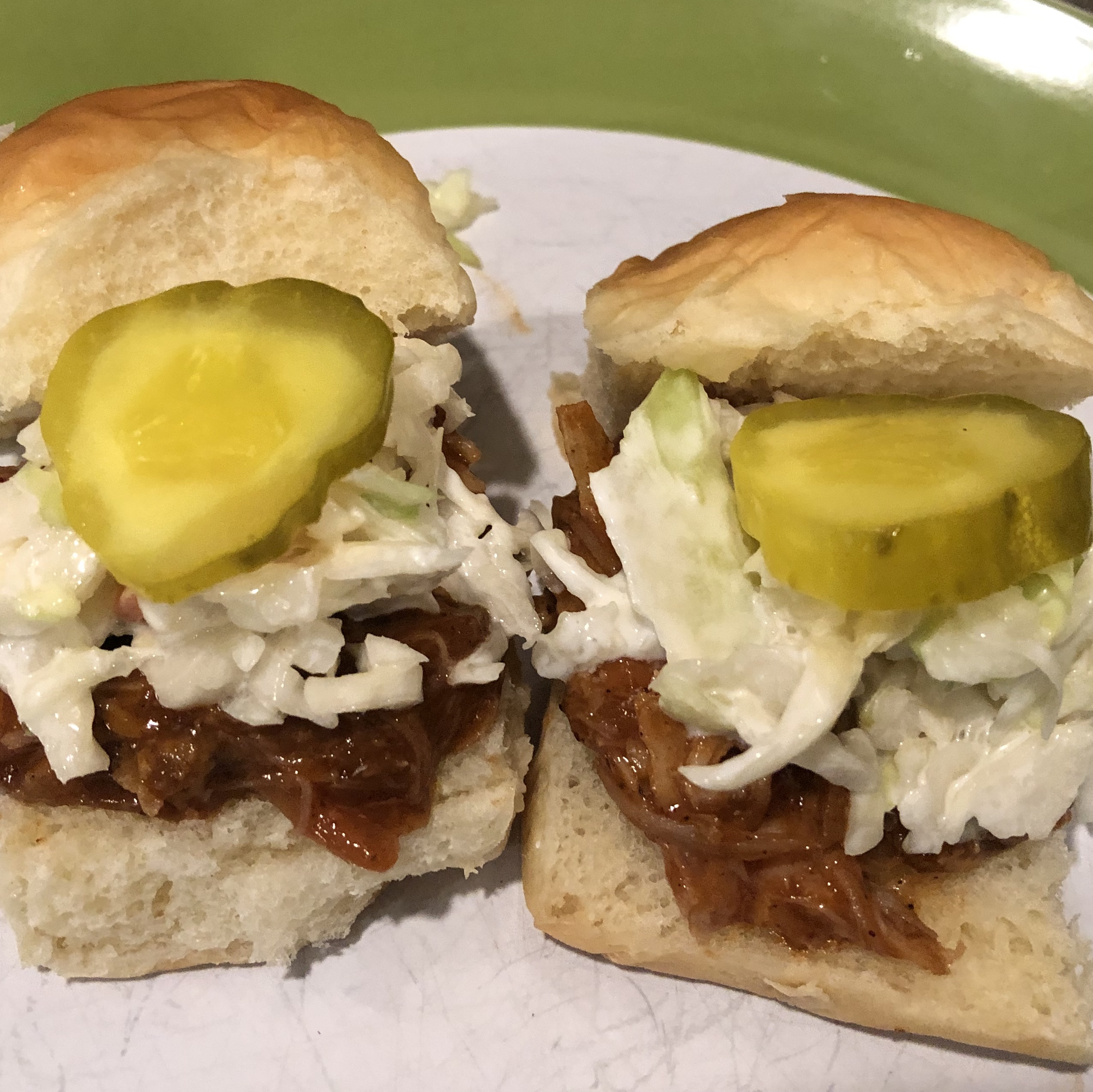 Sister Schubert's® Barbecue Pulled Pork or Chicken Mini-Sliders Mary Harris