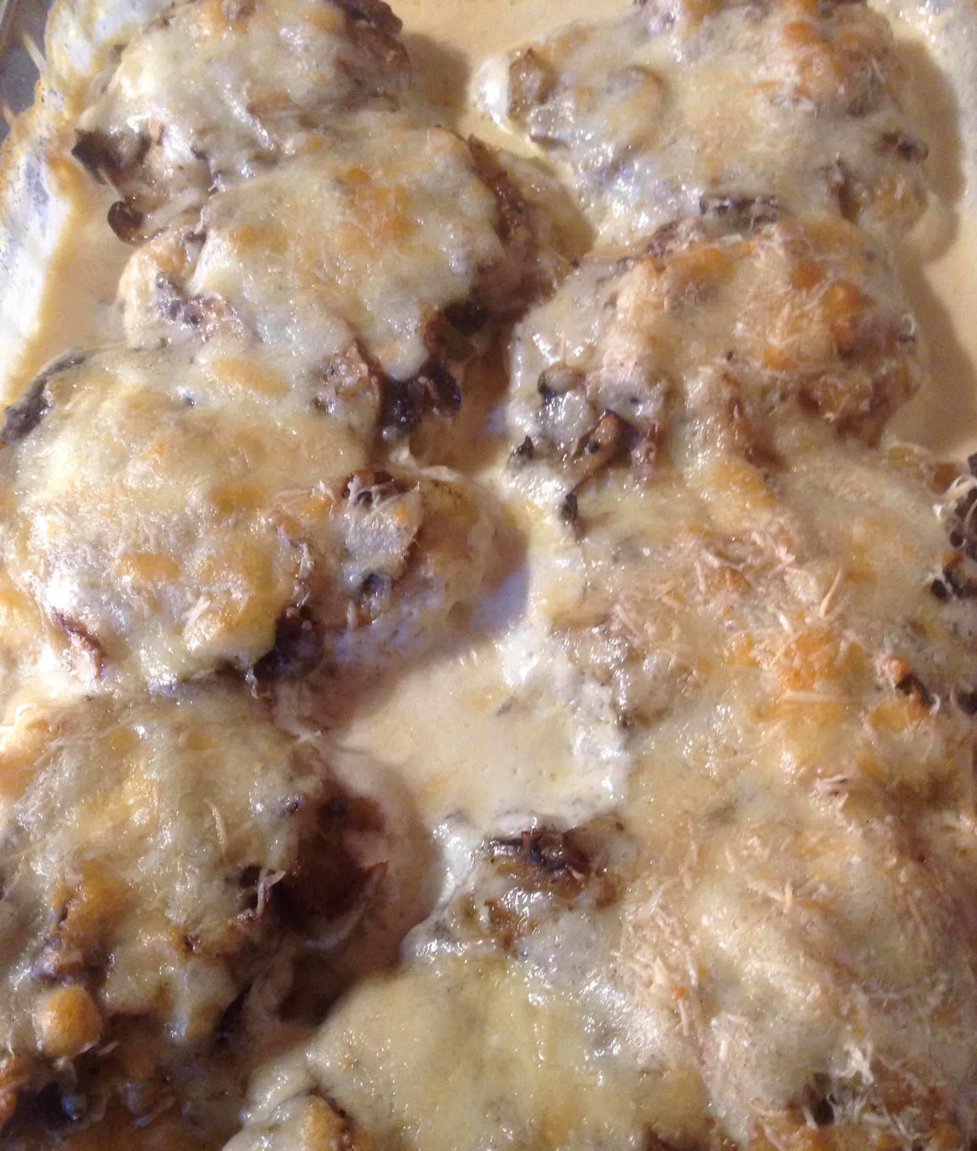 Mushroom Chicken Parmesan Coder69