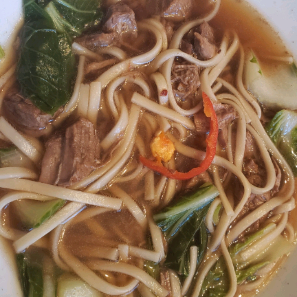 Taiwanese Spicy Beef Noodle Soup Courtney