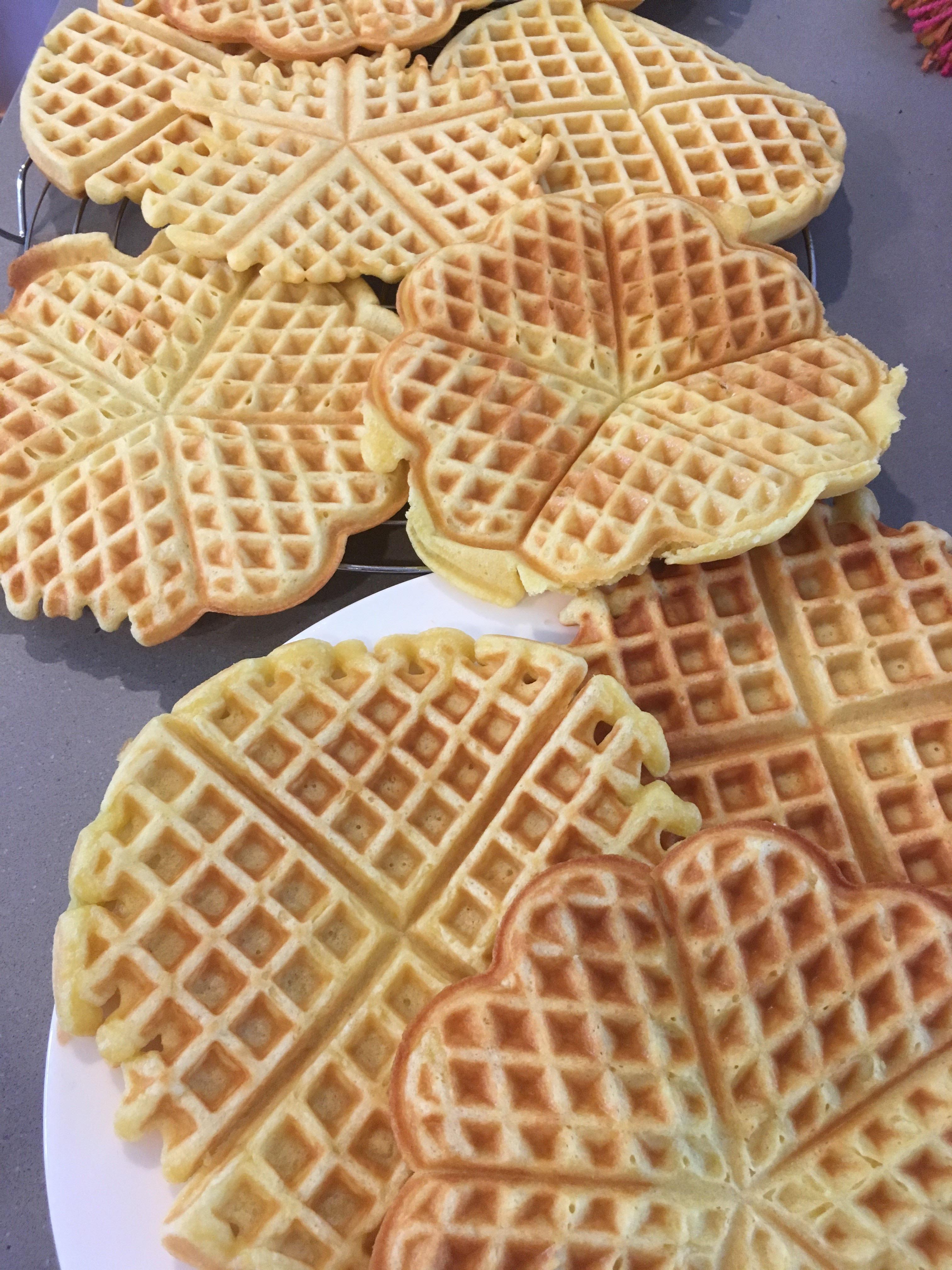 The Best Waffles gartenfee