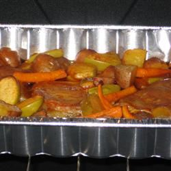 Roasted Potatoes and Apples LorraineMcL
