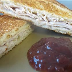 Sweet and Spicy Turkey Sandwich mommyluvs2cook