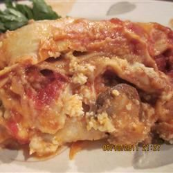 Italian Sausage and Mushroom Lasagna with Bechamel Sauce KulinaryKeri