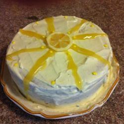 Lemon Chiffon Cake BakingBot