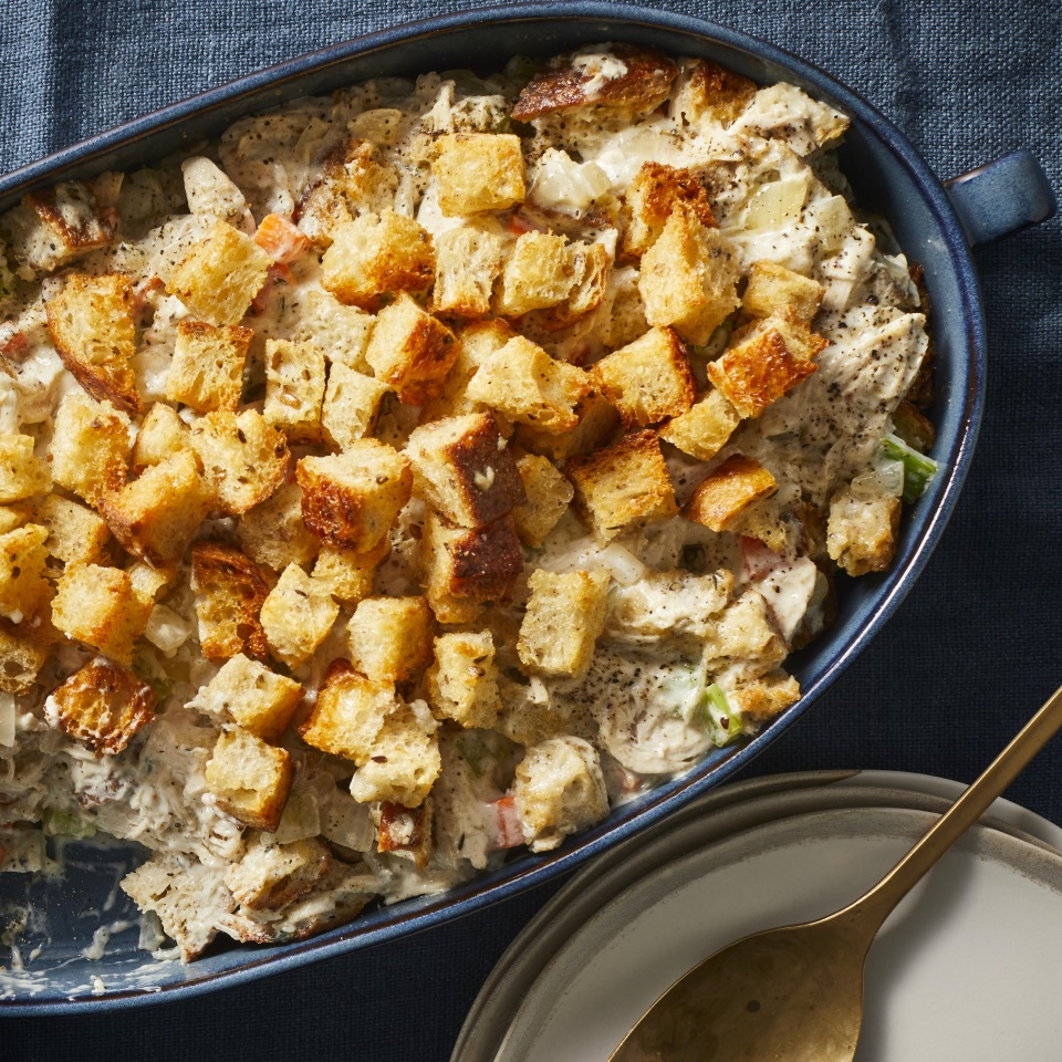 Chicken & Stuffing Casserole Trusted Brands