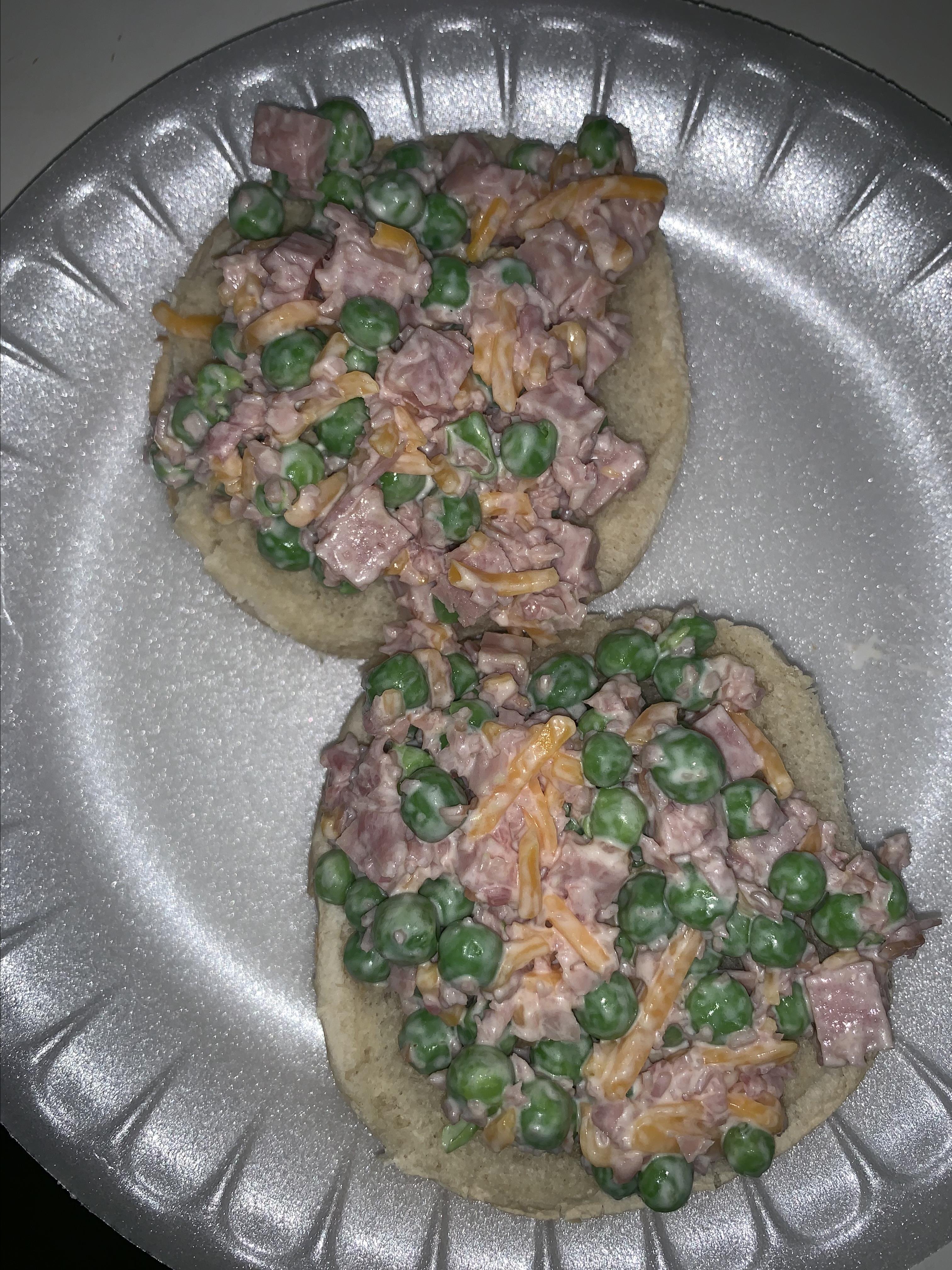 Green Pea and Ham Salad Dennis Barnes