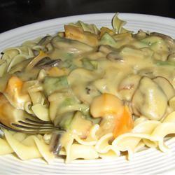 Mushroom Sauce for Pasta