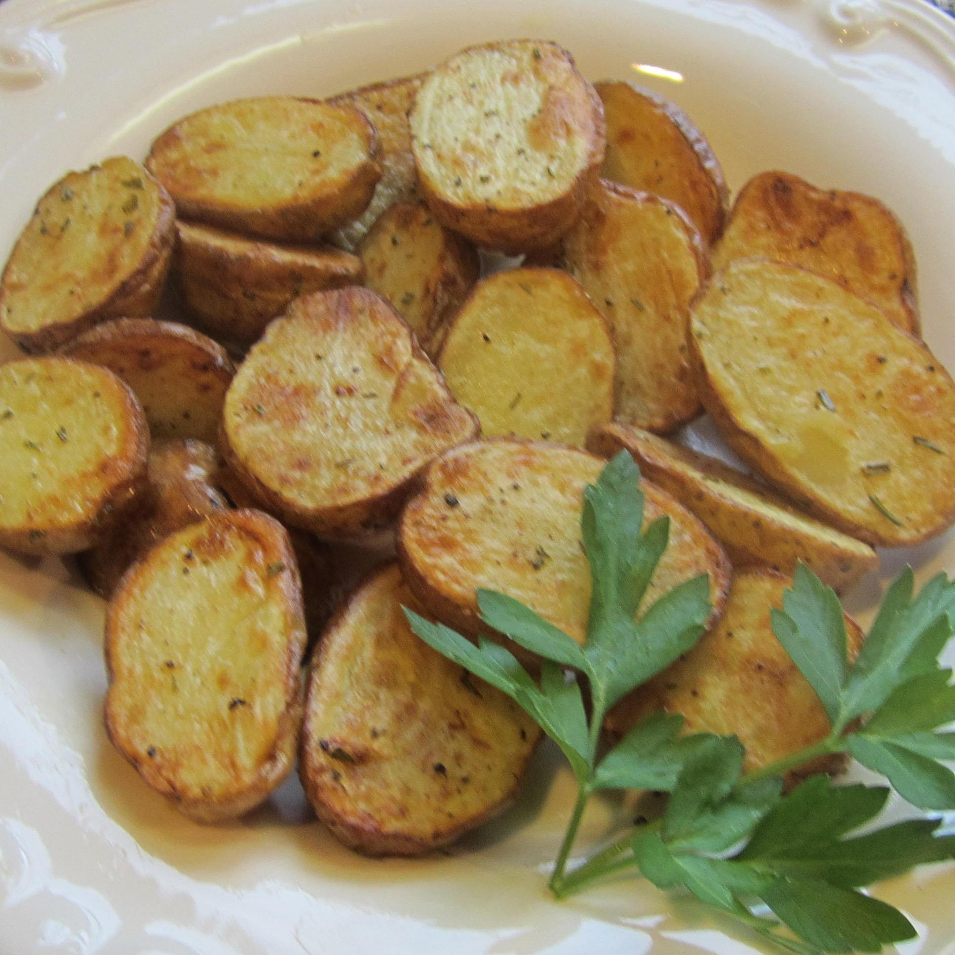 Air Fryer Rosemary Garlic Baby Potatoes Deb C