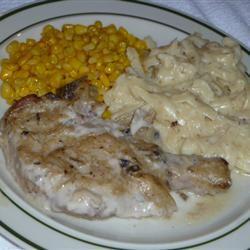 Pork Chops with Mushroom Onion Gravy nawfdallas
