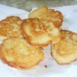Fried Mashed Potato Cakes