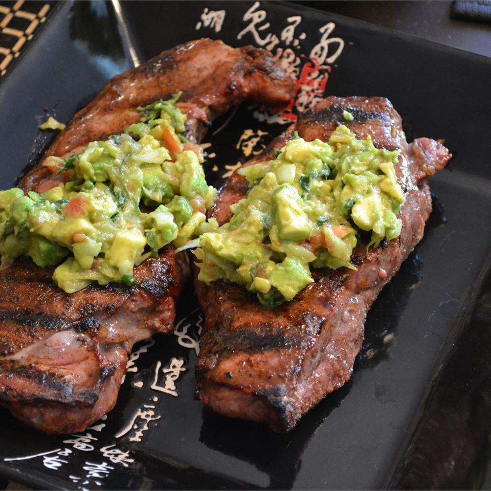 Flank Steak with Avocado Salsa MrsMacDonald