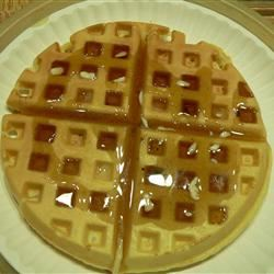 Traditional Waffles Scotdog