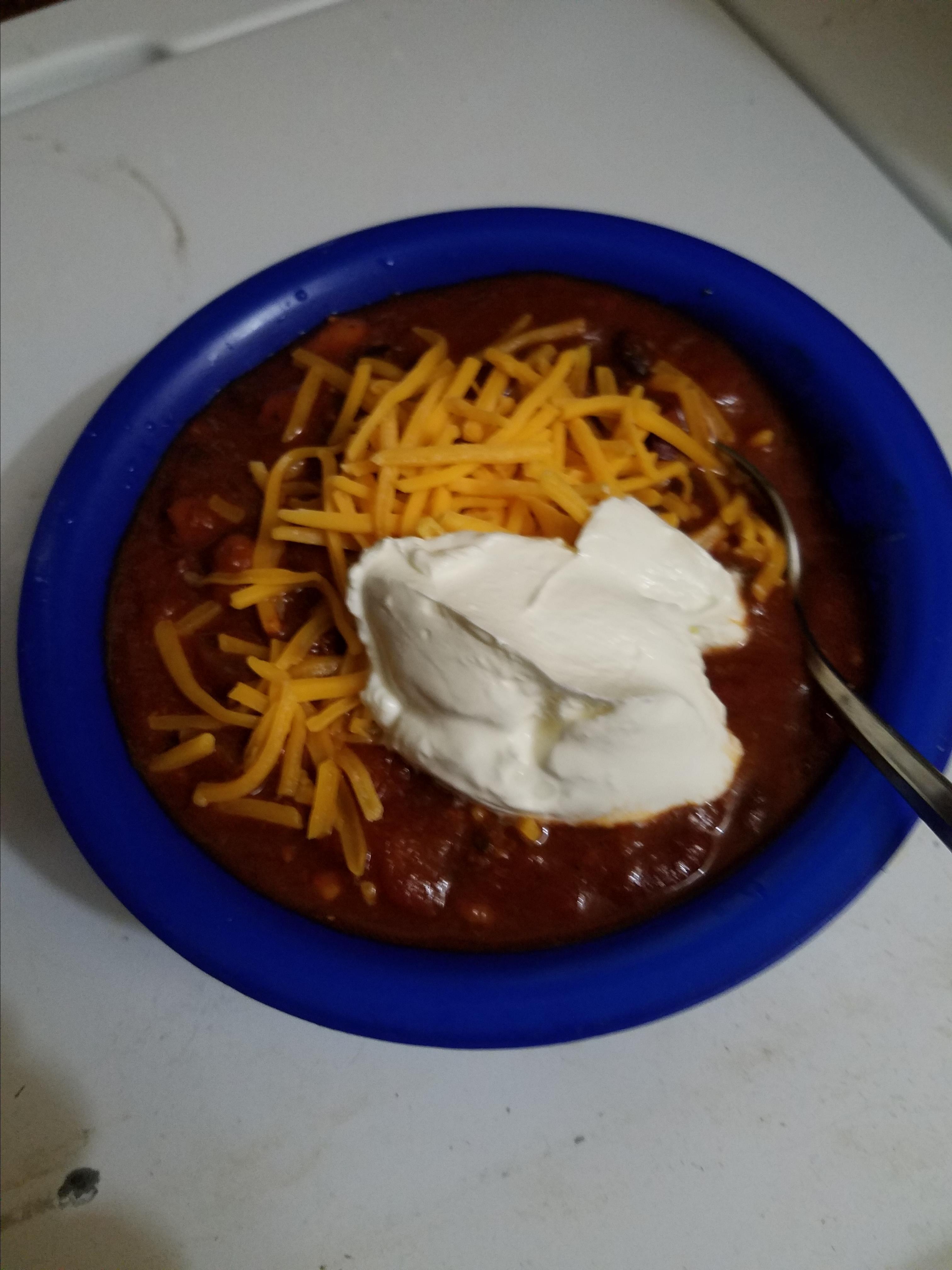 Quick Beef Chili