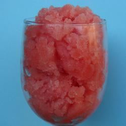 Watermelon Granita with Champagne House of Aqua