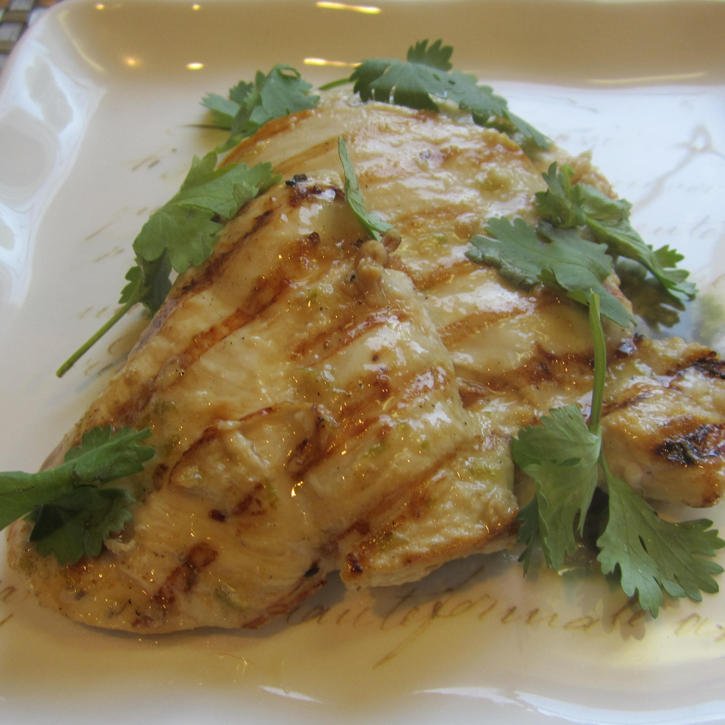 Grilled Chile-Cilantro-Lime Chicken Deb C