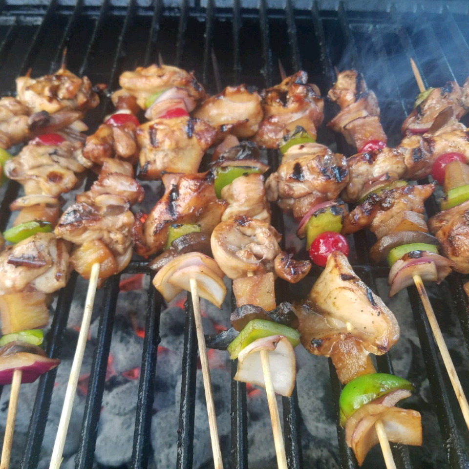 Slayer's Sweet, Tangy, and Spicy Kabobs