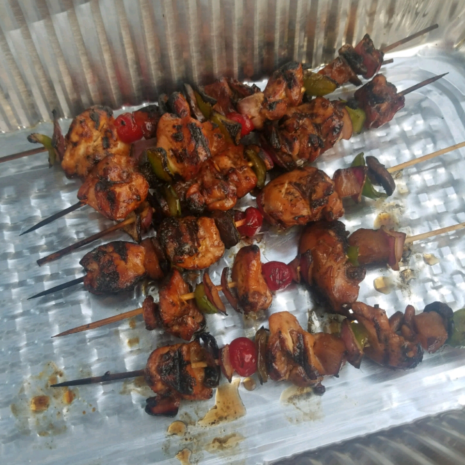 Slayer's Sweet, Tangy, and Spicy Kabobs Jason DeBourg