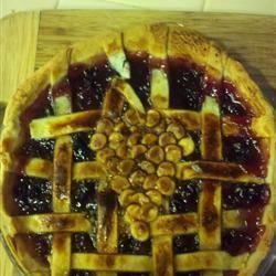 Concord Grape Pie III