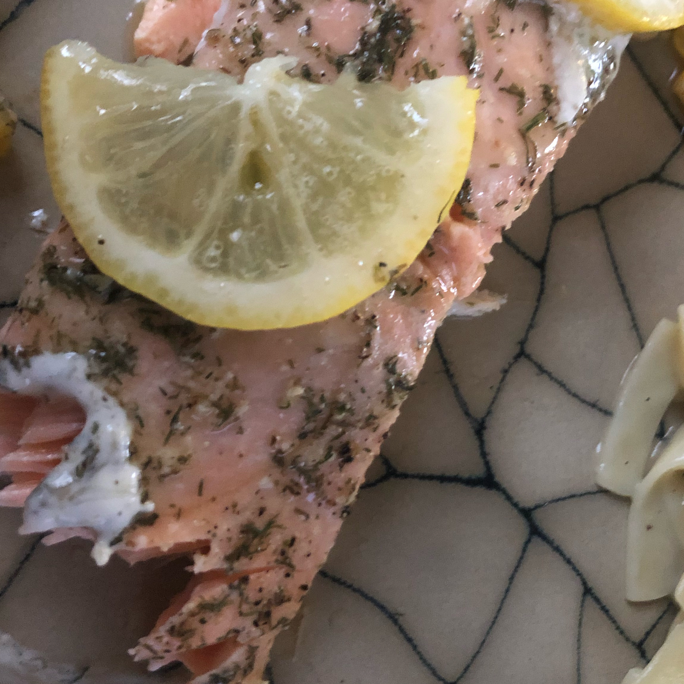 Lemon Dill Salmon Fillet Kim J.