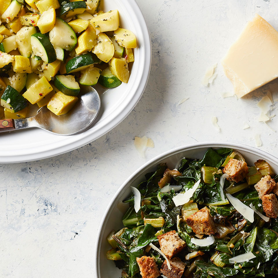 Sauteed Swiss Chard with Croutons, Lemon & Anchovy Trusted Brands