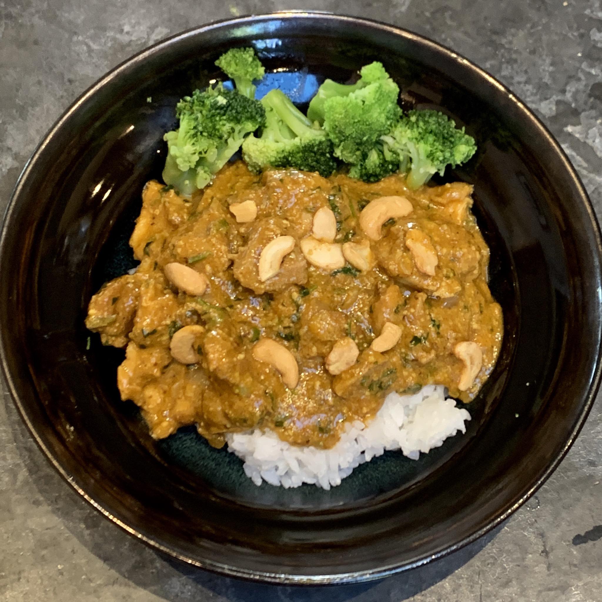 Creamy Cashew Chicken Curry Kevin Jantzer