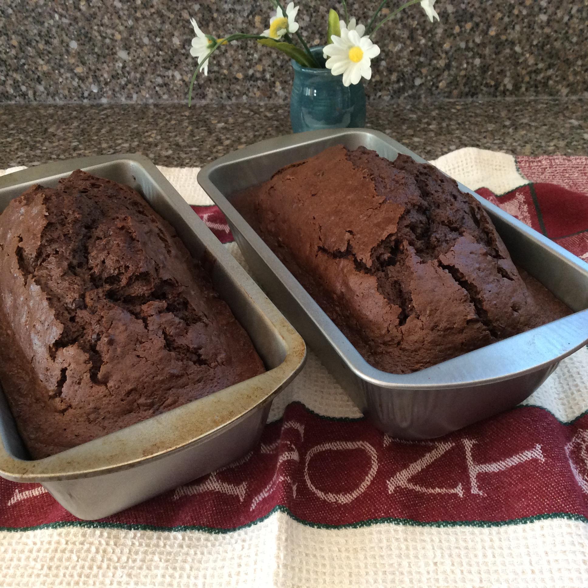 Chocolate Zucchini Bread II