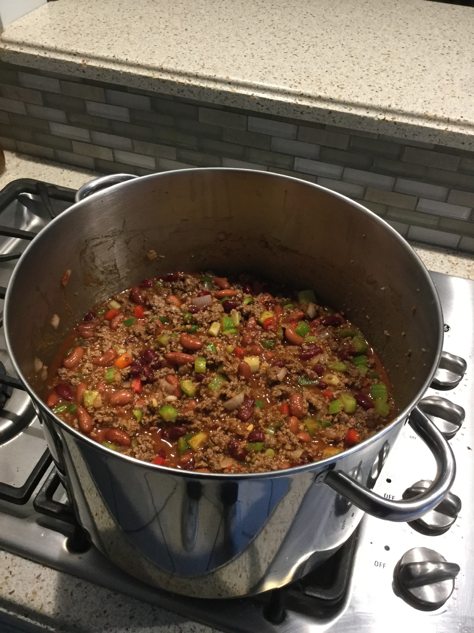 Sweet and Spicy Ground Beef Chili