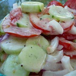 Refreshing Cucumber Salad Molly