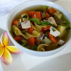 Hearty Chicken Vegetable Soup I Diane H