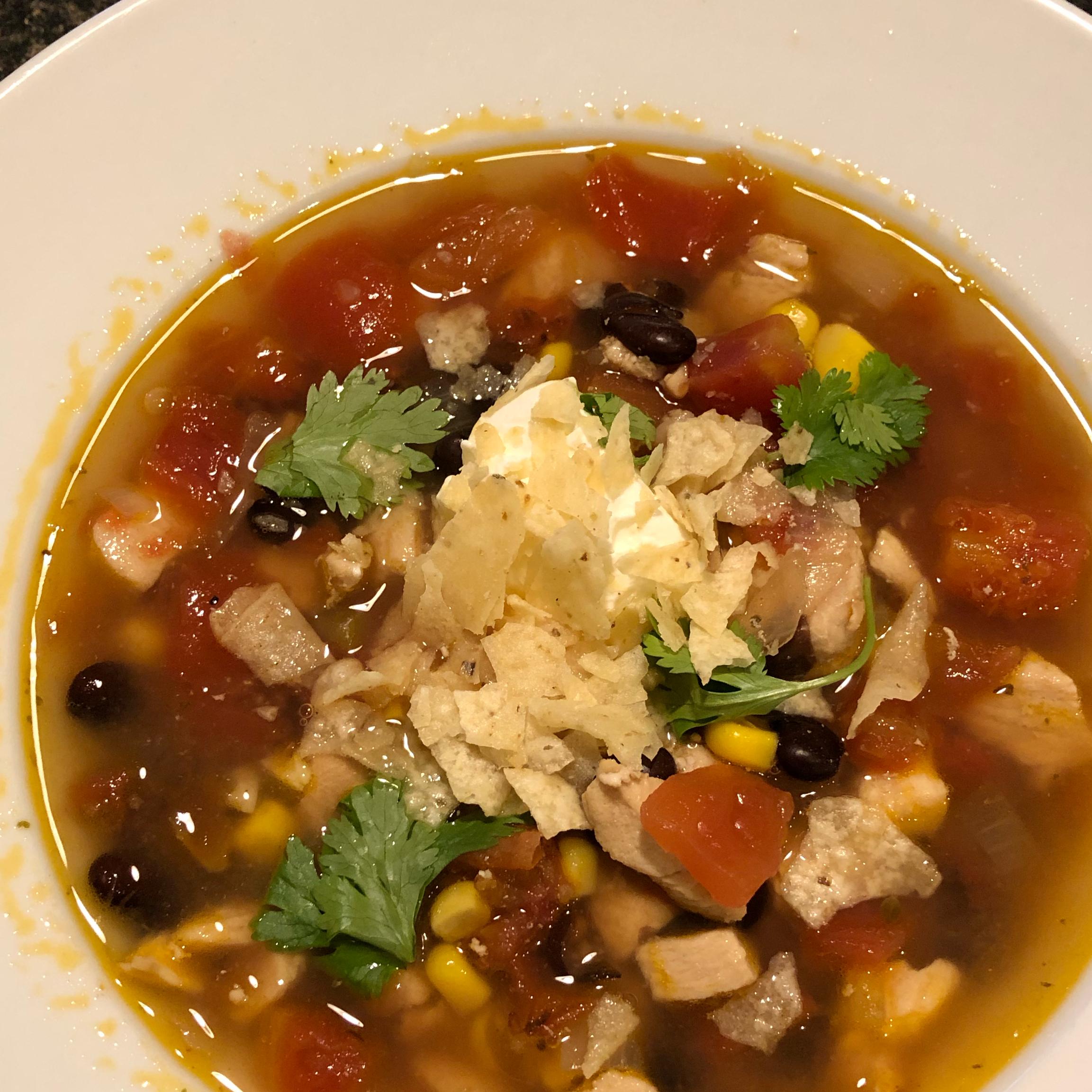 Chipotle Chicken Soup Patricia