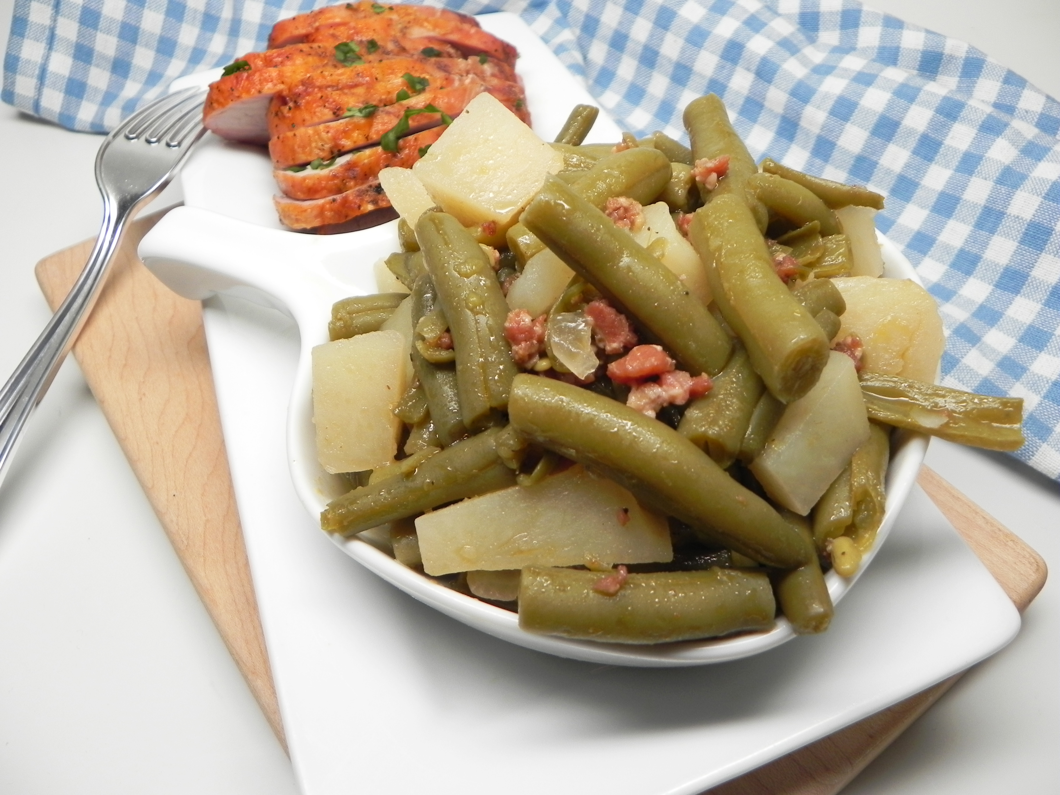 Instant Pot® Southern-Style Green Beans from a Can