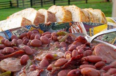 Authentic No Shortcuts Louisiana Red Beans And Rice Recipe Allrecipes