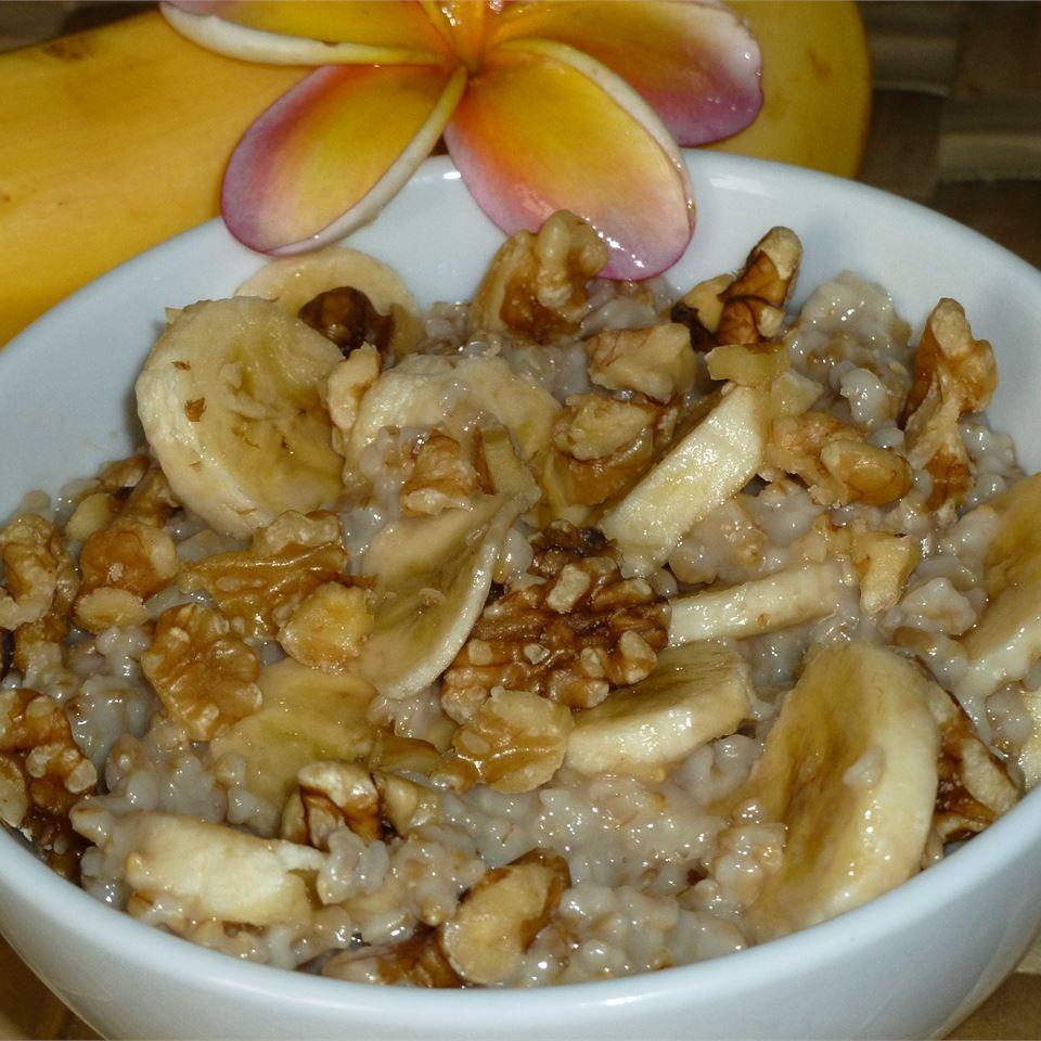 Banana Nut Oatmeal OkinawanPrincess
