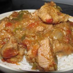 Creole Pork Chops msghd