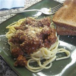 Easy Spaghetti with Tomato Sauce Amanda Jo Shepard