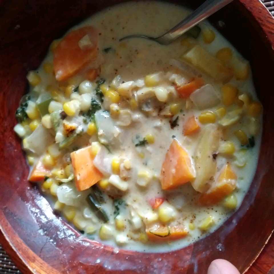 Colorful Corn Chowder Alexander Stangl