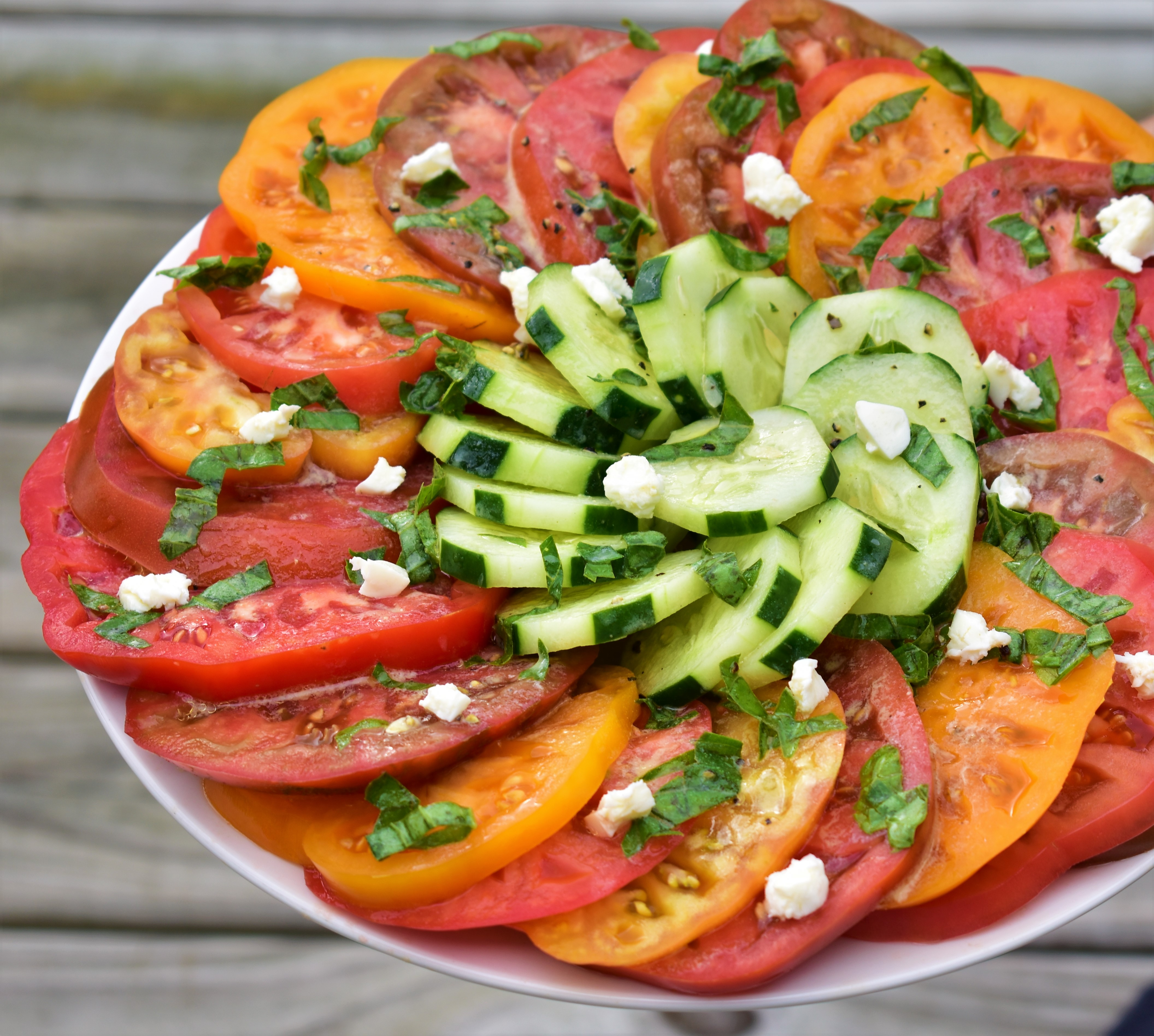 Heirloom Tomato Salad with Feta