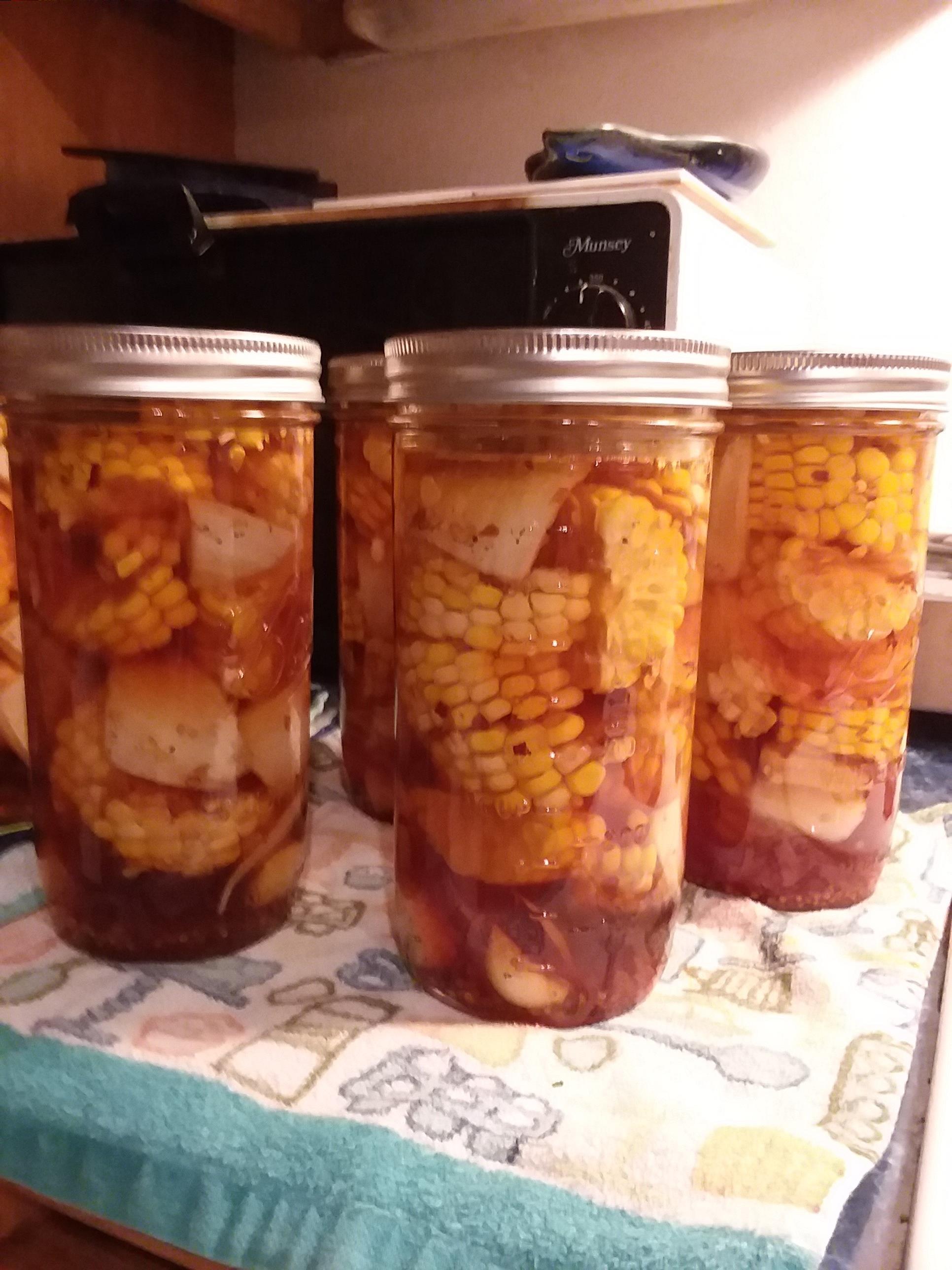 Pickled Corn on the Cob TRISH