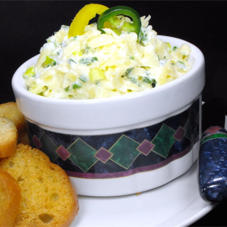 Festive Cheese Dip 'Slaw'